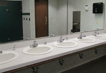 Clean and Sanitize Restrooms